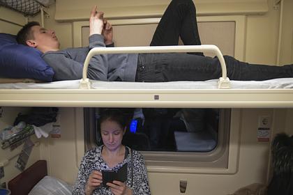 Разрешен спор между пассажирами верхних и нижних полок в российских поездах