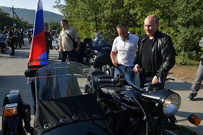 В «Кортеже» Путина появятся мотоциклы