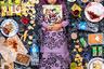 Фотопроект «Хлеб насущный: что едят дети по всему миру» (Daily Bread: What Kids Eat Around the World) поднимает серьезную социальную проблему. Обеспокоенный детским и взрослым ожирением, его автор Грег Сигал (Gregg Segal) решил обратить внимание общественности на то, чем питаются дети, ведь именно в этом возрасте формируются влияющие на всю дальнейшую жизнь пищевые привычки.   Сигал просил детей вести дневники питания и записывать туда все, что они съели. Затем он фотографировал детей вместе с едой, надеясь таким образом показать важность здорового питания. На снимке — девочка по имени Нур из Малайзии.