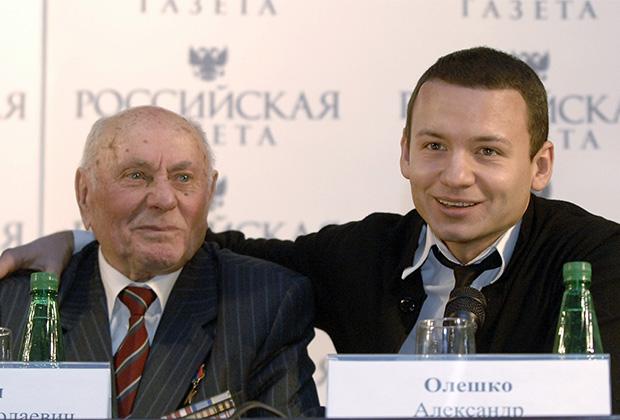 Алексей Ботян (слева)