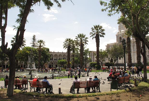 Площадь в Арекипе