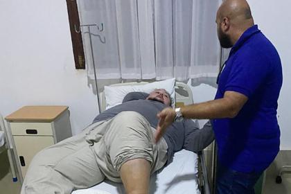 Сын Никаса Сафронова упал с лестницы в Таиланде