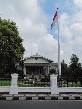 Президентская резиденция в Богоре, Индонезия
