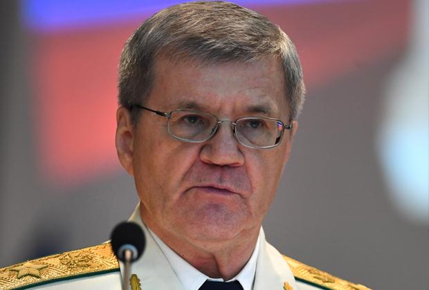 Бывший генпрокурор России Юрий Чайка