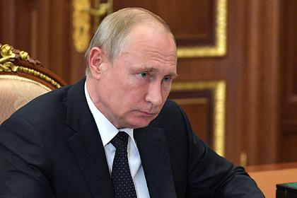 Путин выразил Зеленскому соболезнования в связи с гибелью украинцев под Псковом