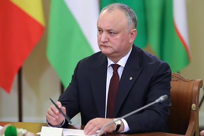 Президент Молдавии пожаловался на послов стран ЕС