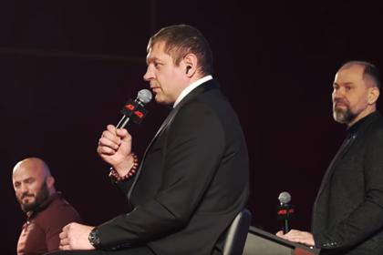 Александр Емельяненко пожалел будущего соперника