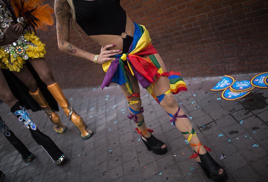 ЛГБТ-парад в Мадриде