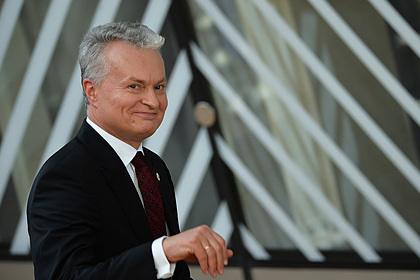 Президент Литвы рассказал о помощи НАТО в борьбе с Россией