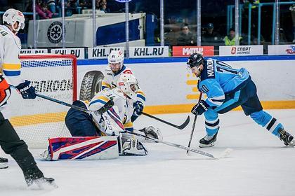 «Сибирь» досрочно вышла в плей-офф Кубка Гагарина
