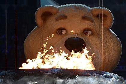 Талисман Олимпиады в Сочи Белый Мишка