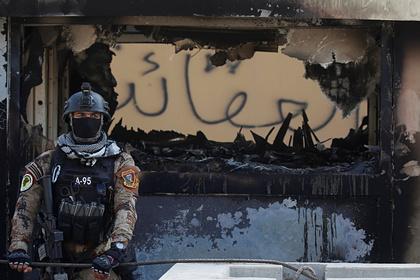 В коалиции рассказали об обстреле военной базы в Багдаде