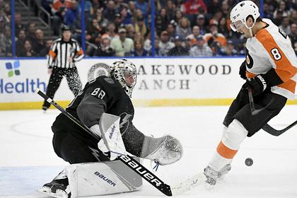 Российский вратарь вошел в историю НХЛ