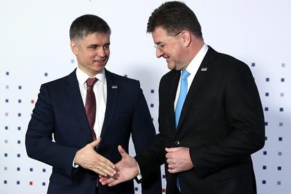 Украина предложила совместно патрулировать границу в Донбассе