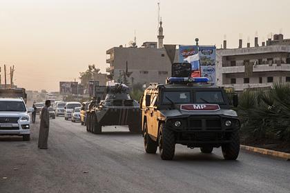 Россия начала устанавливать контроль над главным шоссе Сирии