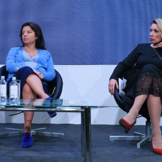 Маргарита Симоньян и Мария Захарова