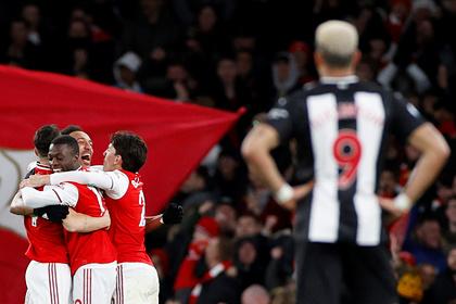 «Арсенал» разгромил «Ньюкасл» в матче АПЛ