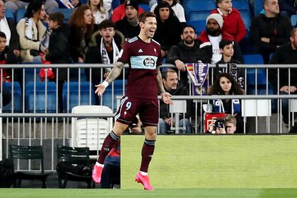 Смолов забил первый гол за «Сельту» в ворота «Реала»