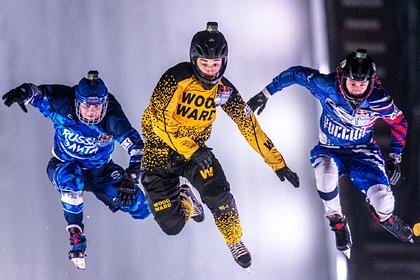 В Японии прошел этап чемпионата мира по скоростному спуску на коньках
