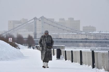Россиян предупредили о морозах в марте