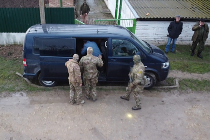 Сотрудники ФСБ задержали бойца украинского нацбатальона
