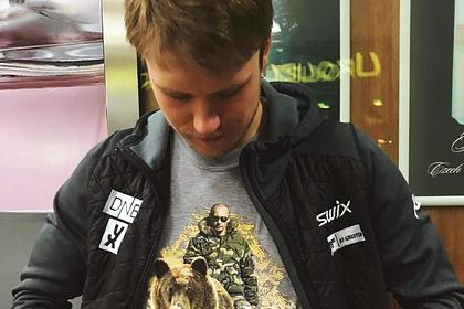 Норвежский биатлонист получил смертельные угрозы из-за футболки с Путиным