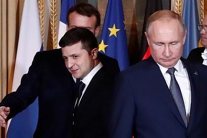 Россия назвала условие для встречи Путина и Зеленского