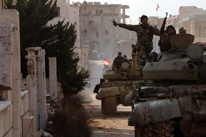 Последние успехи сирийской армии объяснили