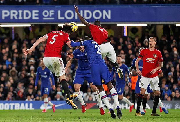 Матч «Челси» — «Манчестер Юнайтед»
