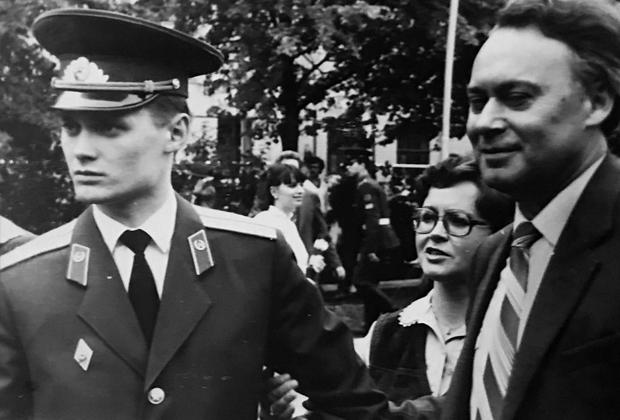 Станислав Морев (слева)