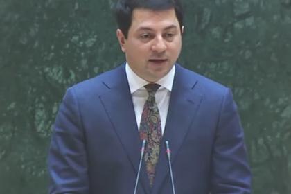 Спикер парламента Грузии выступил под гимн СССР
