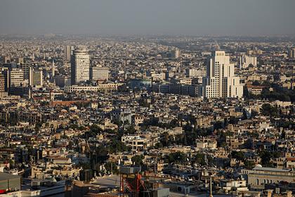 В центре Дамаска произошел мощный взрыв