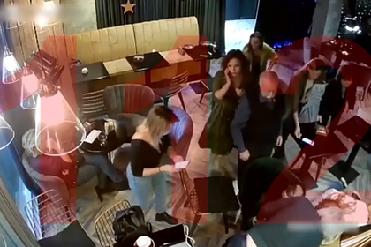 Обморок Диброва попал на видео