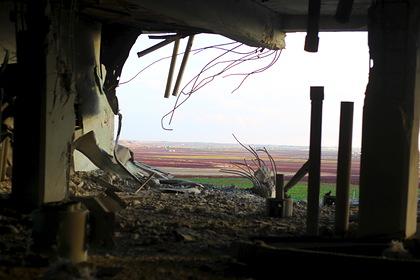 Россия атаковала район террористов в Сирии