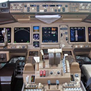 Кабина экипажа борта 9M-MRO