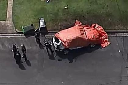 Бывший регбист заживо сгорел в машине вместе с тремя детьми