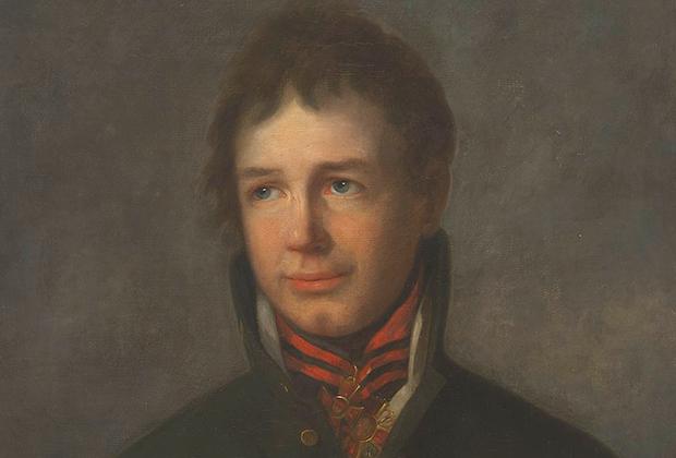 Молодой Адам Крузенштерн