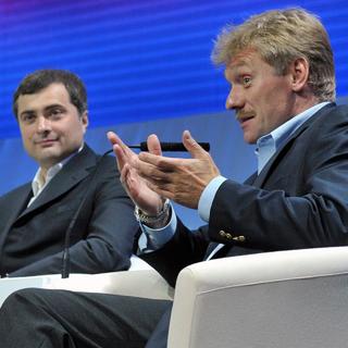 Владислав Сурков и Дмитрий Песков (Архивное фото)