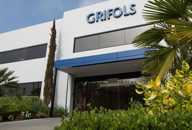 Один из донорских центров Grifols