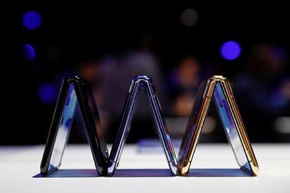 Складной SamsungGalaxyZ Flip признали пылесборником