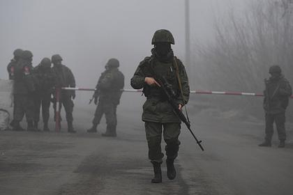 Обстановку после обстрелов в Донбассе сочли успокоившейся