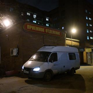 Больница им. С.П. Боткина в Санкт-Петербурге.