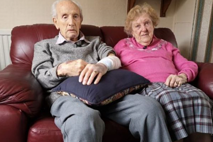 102-х летний пенсионер отбился от грабителя в Англии.