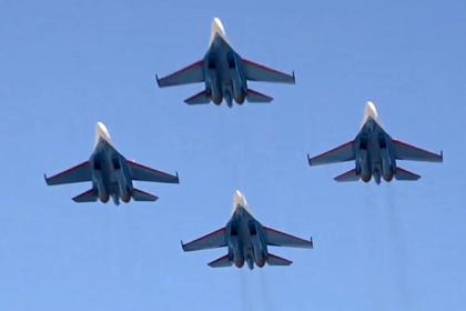 В США раскрыли преимущества Су-35 над F-15EX