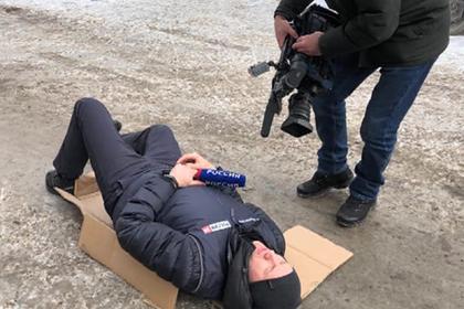 Сбивший журналиста россиянин на Mercedes оказался помощником политика