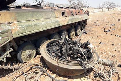 Турция отчиталась об уничтожении 50 сирийских военных