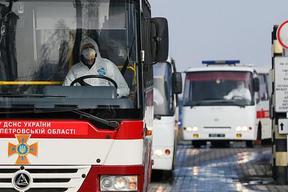 Эвакуированные из Уханя украинцы прибыли в Полтавскую область