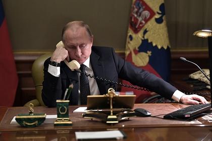 Путин заявил о необходимости нейтрализовать террористическую угрозу в Сирии