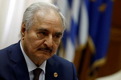 Хафтар назвал условия для прекращения войны в Ливии
