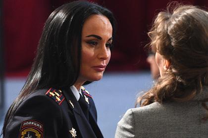 Официальный представитель МВД Ирина Волк стала генералом